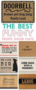 Front Doors : Funny Front Door Mats Uk Funny Doormats Uk Door ...