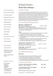 Retail Sales Manager Resume Unique Retail Store Manager Resume Best Gorgeous Retail Store Resume