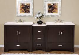 90 inch modern double bathroom vanity