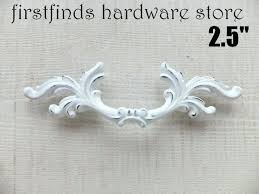 Fancy Drawer Pulls White Shabby Chic French Provincial Handles  Furniture Hardware Door Cupboard Kitchen Cabinet Description Below From On  White Drawer Pulls U34