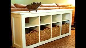 Sofa Table Diy Inspiring Sofa Table Diy Ideas Youtube