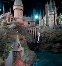 Hogwarts Set Design Incredibly Detailed Model Of Hogwarts Castle Used For Every