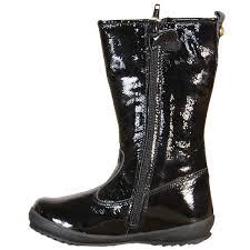Naturino Paris T Strap Naturino Girls Boots Black
