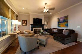 Living Room And Family Room