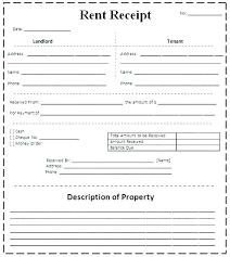 Receipt Template Doc Apartment Rent Receipt Rent Receipt Template Doc Rental Word