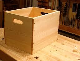 wooden storage box plans
