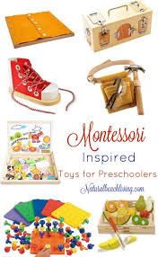 The Best Montessori Toys for 3 year olds, toys preschoolers and education Year Olds - Natural Beach Living
