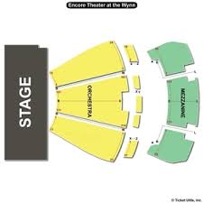 Encore Theatre Wynn Las Vegas Seating Chart Best Picture