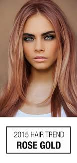 Rose Gold Hair Color This Hair
