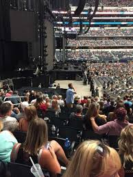 Dallas Cowboys Stadium Concert Seating Chart At T Stadium Section 124 Home Of Dallas Cowboys