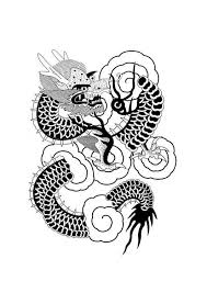 Kleurplaat Chinese Draak Afb 12997 Images