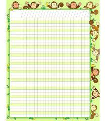Attendance Sheet Template Word Sunday School Chart Templates – Scopeinc