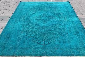 turkish overdyed rug 194x305 cm