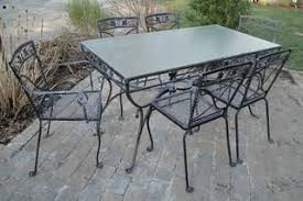 salterini outdoor furniture. items similar to vintage wrought iron salterini mount vernon patio dining table and six chairs on etsy outdoor furniture