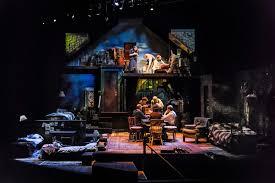 Diary Of Anne Frank Set Design Center Rep Theatre Walnut Creek California