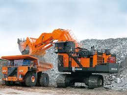Large Excavators Loading Shovels Hitachi Construction