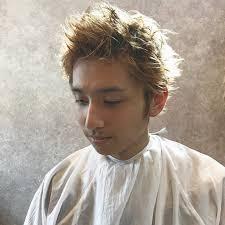 外国人風 メンズ ショート スポーツhair Spacea Alma 雄一郎hairspace