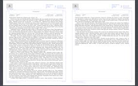header footer reproduction of word report template in latex output spread