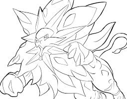 Speed Drawing Solgaleo Pokemon Sun Dessiner