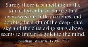 Jonathan Edwards Quotes Extraordinary LeighChantelle Friday's Final Say Jonathan Edwards Nature Quote