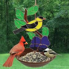 glass bird feeder stained glass goldfinch bird feeder glass bird feeders uk glass bird feeder