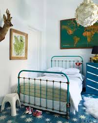 teal and blue themed eclectic boys room 10 lovely little boys rooms pt 2 blue vintage style bedroom