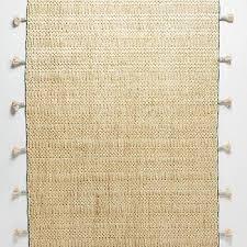 modern woven jute rug