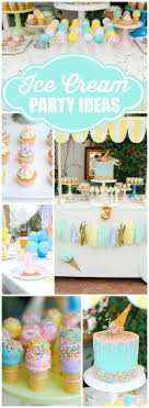 Ice Cream theme / Birthday