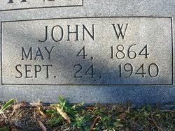 John Wesley Hicks (1864 - 1940) - Genealogy