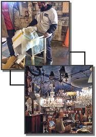 chandeliers mirrors artwork