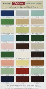 2019 Suburban Color Chart Robbialac Paint Brochure Super Gloss Enamel In 2019