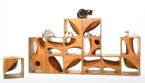 wooden cubes furniture. Catable 2.0 / LYCS Architecture Wooden Cubes Furniture