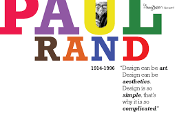 Pioneer Design Engineering Pvt Ltd Design Pioneer Paul Rand On Behance