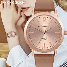Горячая Мода женские кварцевые часы Гладкий ...