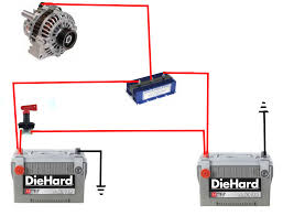 dual car battery wiring diagram wiring diagram dual battery isolator switch wiring diagram