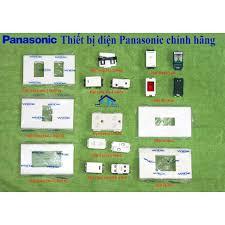 Giá bán Công tắc ổ cắm Panasonic dòng Wide - Thiết bị điện Panasonic chính  hãng