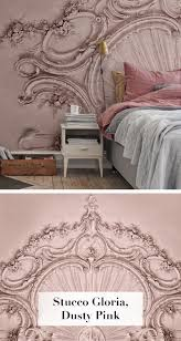 Stucco Gloria Dusty Pink Decorating Schlafzimmer Tapete