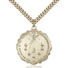 the seven gifts of the holy spirit medal pendant 1