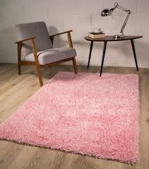 Pink Rugs For Living Room Small Large Thick Soft Baby Pink Shaggy Rugs New Non Shed 5cm Pile