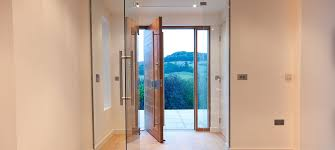 frameless glass internal door