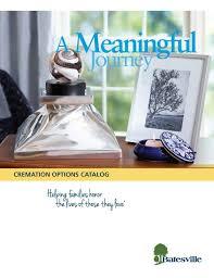 cremation catalog