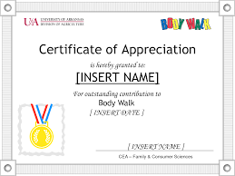Thank You Certificate Wording Certification Of Appreciation