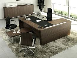 home office desk l shaped. L Shaped Office Desk Wooden Executive With Cable Management T Home