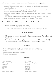 Resume Templates Word 2010 Free Resume