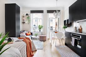 Studio Apartment Design Ideas Pictures 4 Small Studio Interior Designs That Give Little Places A Lift