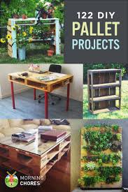 pallet furniture projects. 122 DIY Recycled Wooden Pallet Projects And Ideas For Furniture Garden MorningChores