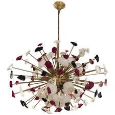 italian sputnik chandelier in flossy