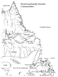 Nflbcom newfoundland printable map on printable map of the united states and estern canada
