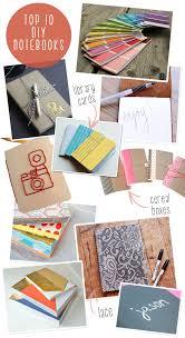inspiration board top 10 diy notebooks