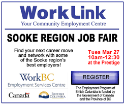 What Happens At A Job Fair Typical Jobs Hired By Employers Attending The Sooke Region Job Fair